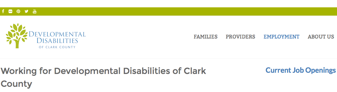 Developmental Disabilities of Clark County